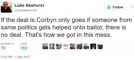 akehurst politics