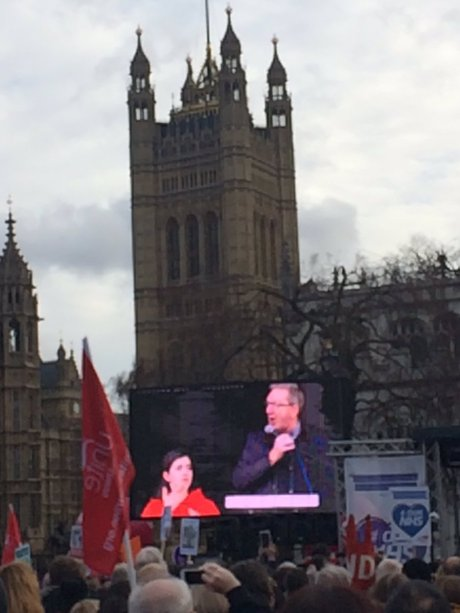 mccluskey-nhs-march