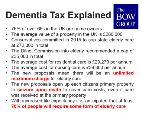 bow group dementia tax