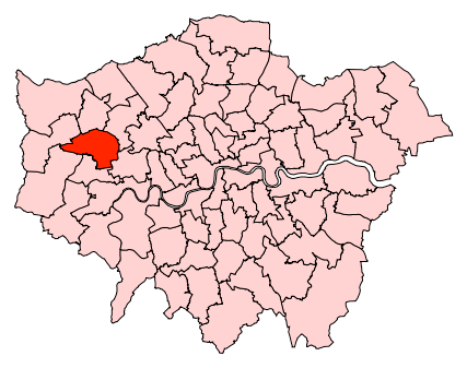 ealing north map