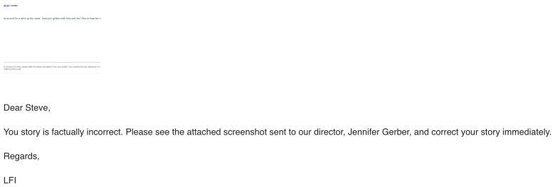 lfi response