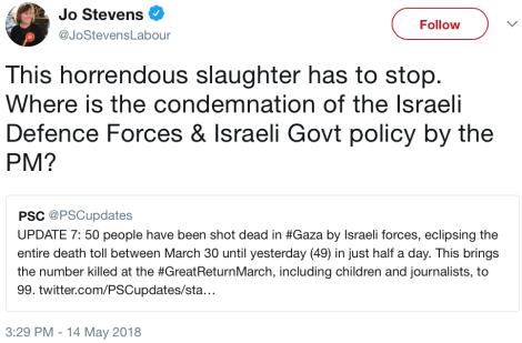 stevens condemn