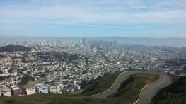 Overlooking San Francisco.