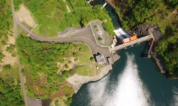 空撮/駒ケ岳ダム・鳥崎渓谷八景