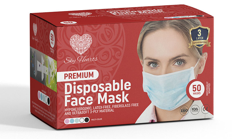 ultra soft disposable face mask