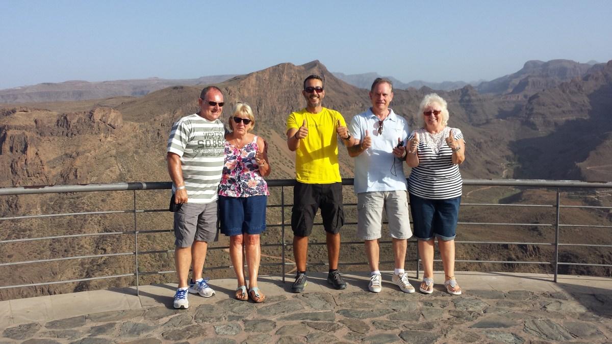 miradores en Gran Canaria degollada de las yeguas