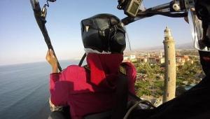 Paragliding Gran Canaria Maspalomas lighthouse