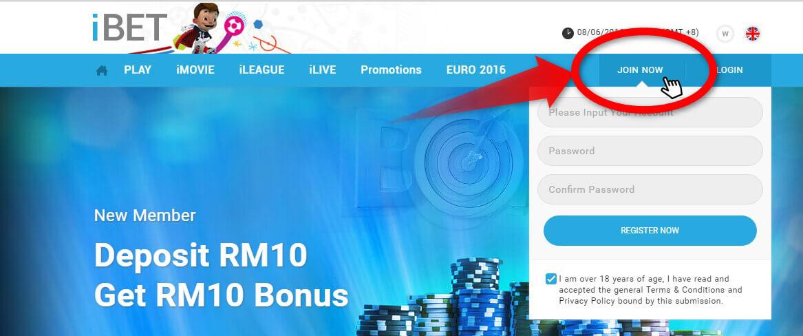 Free Register iBET sky3888a Top Up and Get More Bonus!