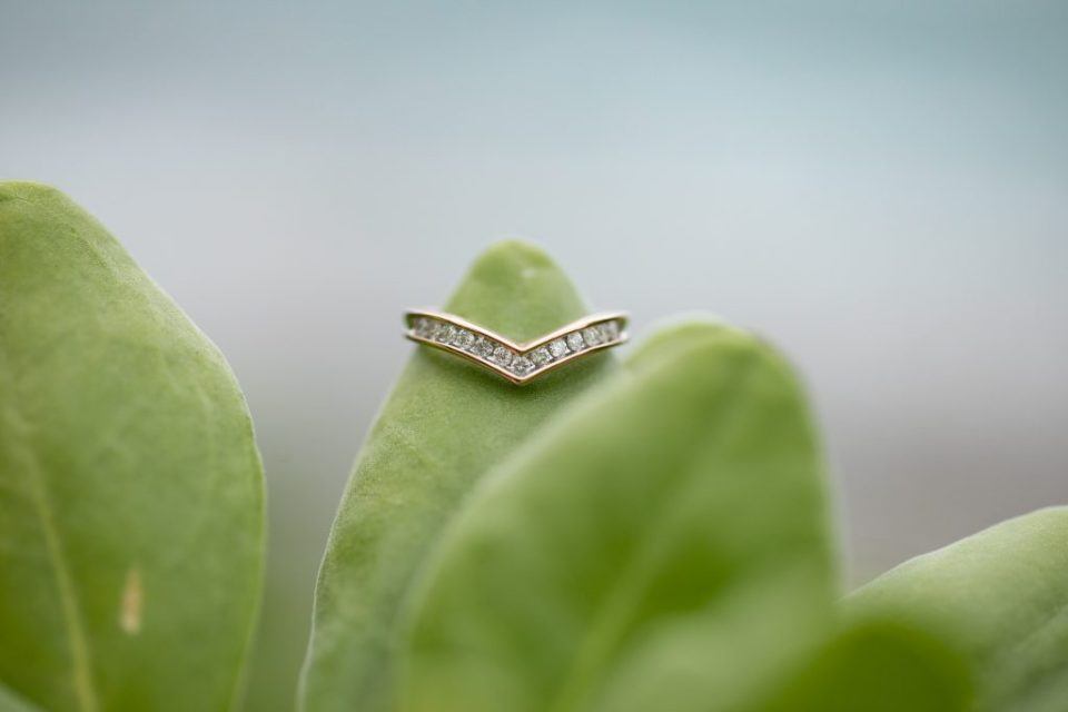 simple unique wedding ring
