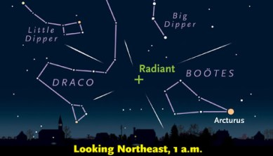 Poor Year for the Quadrantid Meteor Shower - Sky & Telescope - Sky &  Telescope
