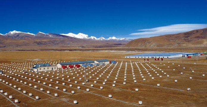 Tibetan particle observatory