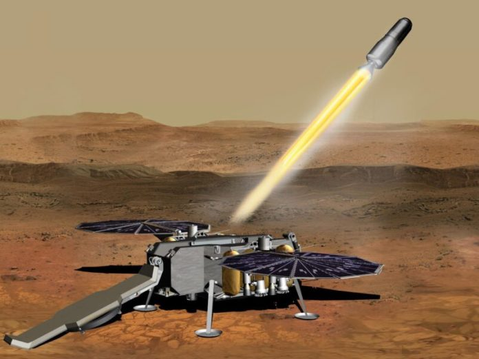 Mars Sample Return (artist's concept)