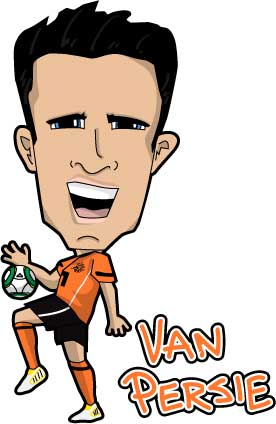 Van Persie - Agent Orange!