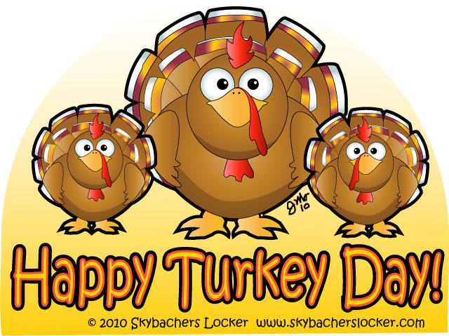 Happy Thanksgiving Cartoon | Skybacher's Locker (640 x 479 Pixel)