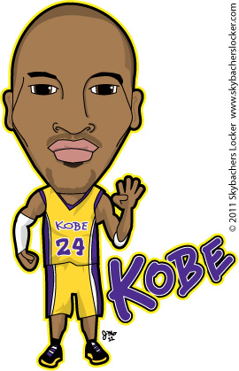 kobe bryant cartoon nba clipart kobe lakers lakers clipart