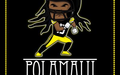 FREE Polamalu Coloring Page – 2011