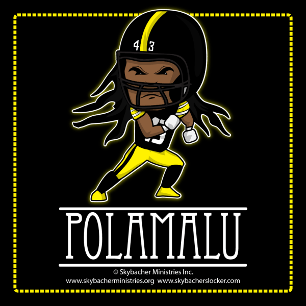 Polamalu - Wallpaper