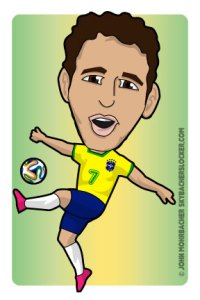 oscar cartoon, oscar world cup
