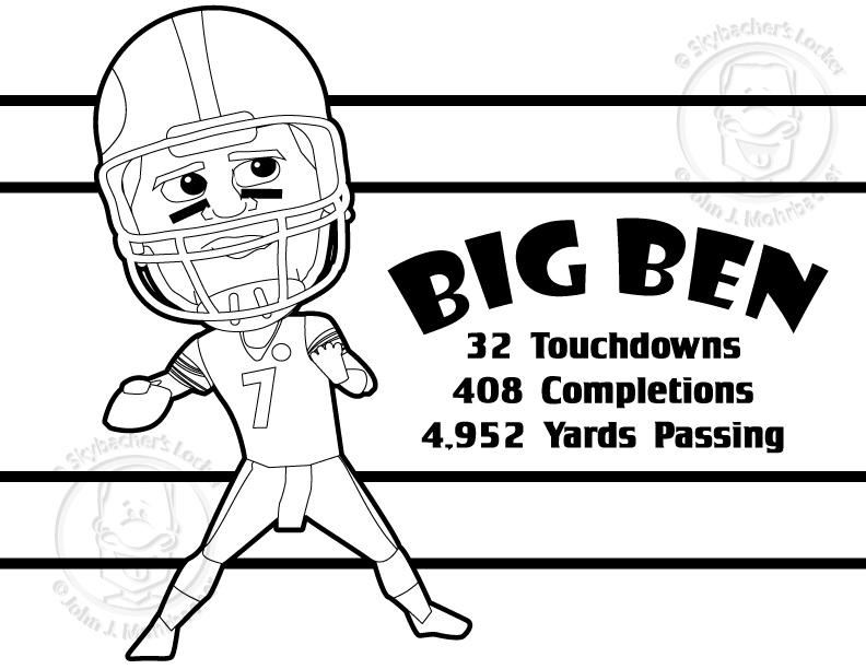 free steelers coloring pages – for the playoff run