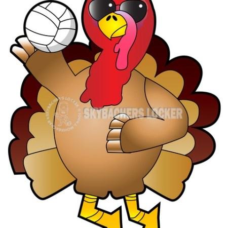 Volleyball Cool Turkey - Skybacher's Locker