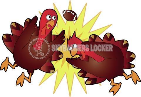 Turkey Bowl Clash - Skybacher's Locker