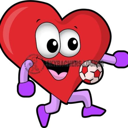 Soccer Love Cartoon - Skybacher's Locker