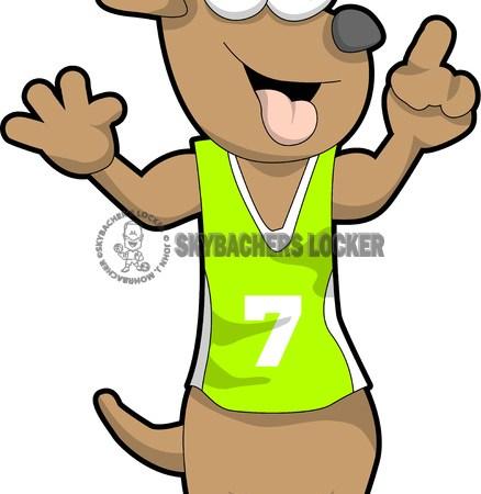 Wiener Dog Cartoon - Skybacher's Locker