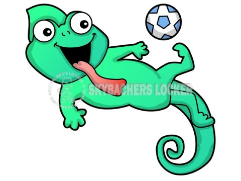 Chameleon Soccer Kick - Skybacher's Locker