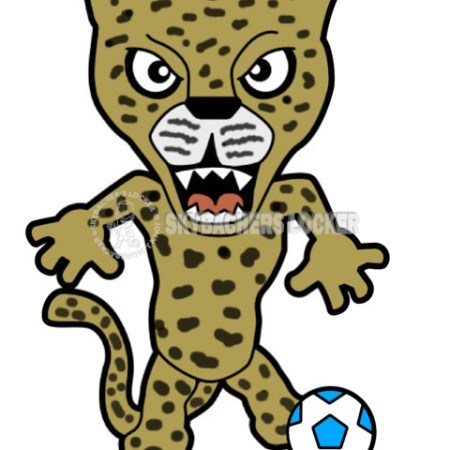 Pouncy the Soccer Leopard - Skybacher's Locker