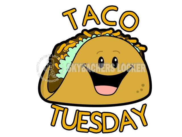 Taco Tuesday Cartoon - Skybacher's Locker