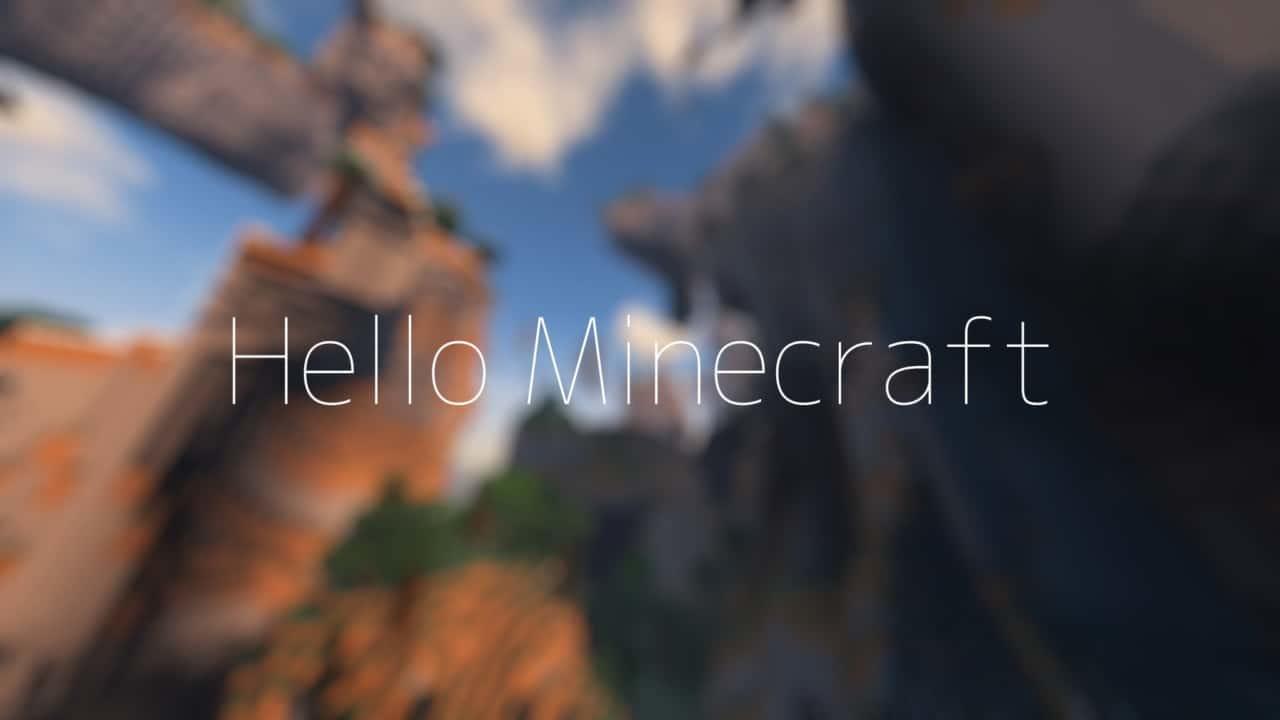 マイクラリアルイベント「Hello Minecraft」が開催されます