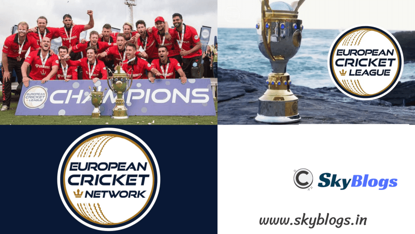 EUROPEAN CRICKET CHAMPIONSHIP 2019 by skyblogs.in