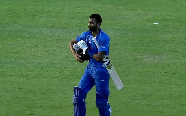 dy patil tournament hardik pandya
