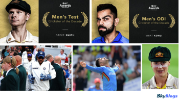 ICC ANNOUNCED TEST, ODI, T20 AND MALE CRICKETER OF THE DECADE