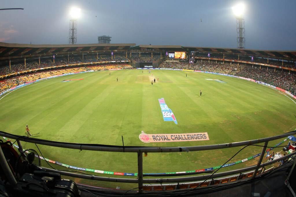 Cricket Stadiums In India-chinnaswamy-cricket-stadium