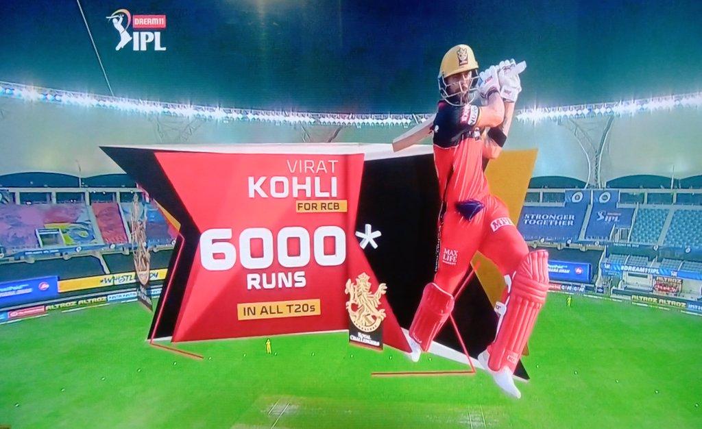 6000 IPL runs