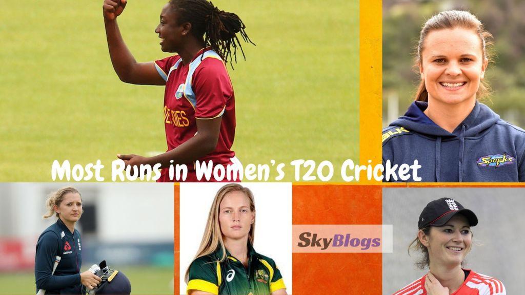 Most Runs in Women's T20 Cricket