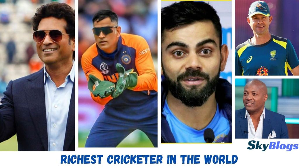 Top 10 Richest Cricketer In The World In 2021