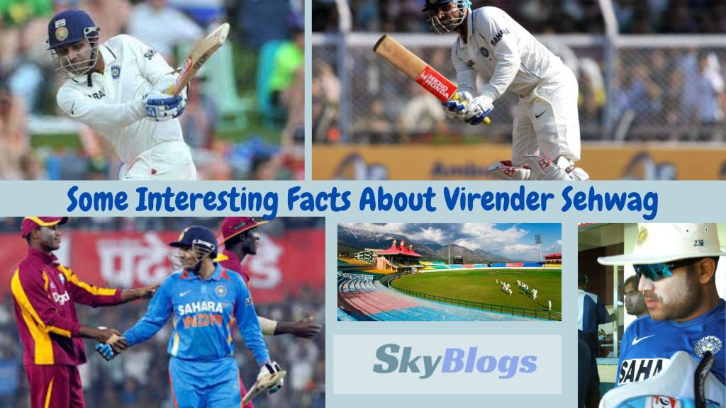 Some Interesting Facts About Virender Sehwag