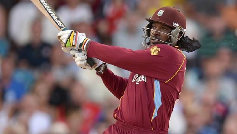 chris gayle most sixes in odi