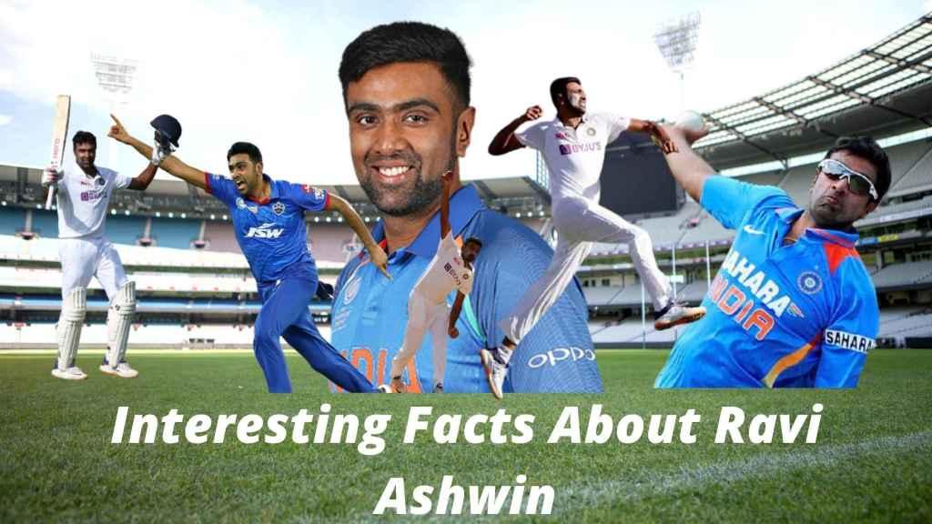 Interesting Facts About Ravi Ashwin