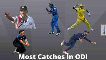 Most Catches In ODI