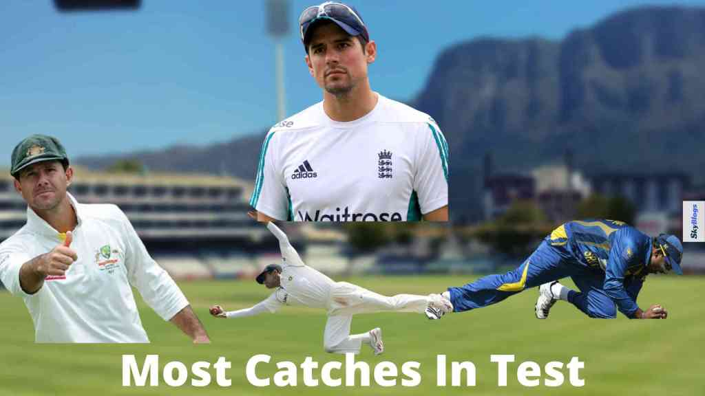 Most Catches In Test
