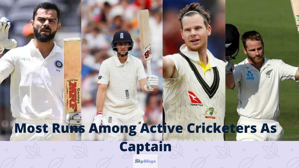 Most Runs in Test As Captain