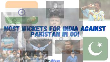 Most Wickets for India Against Pakistan in ODI