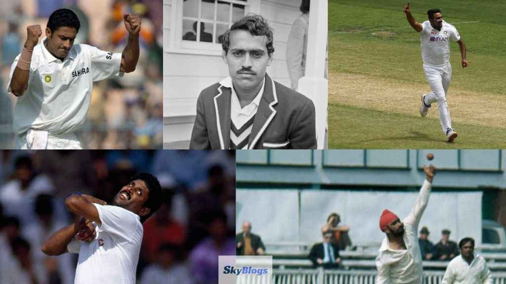 Most Wickets for India against England in Test