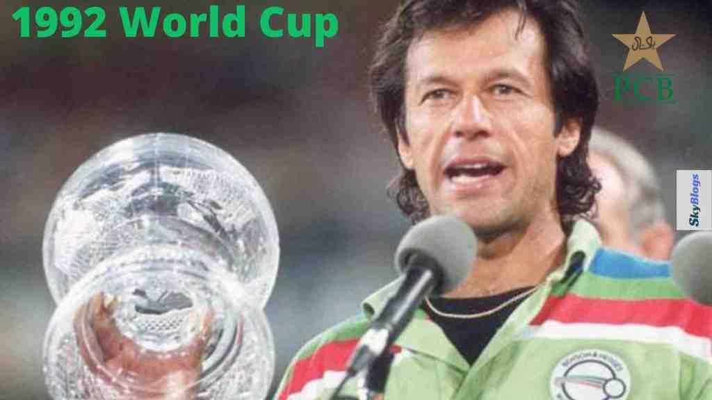 ICC cricket world cup 1992 winner was Pakistan