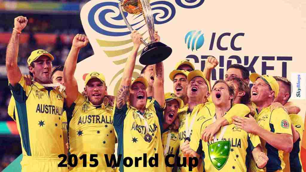 icc cricket world cup 2015 winner was australia