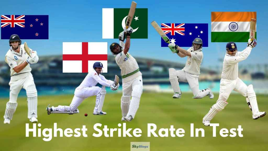 5 Players With Highest Strike Rate In Test
