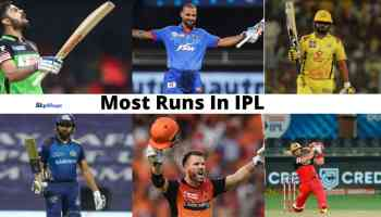 Most Runs In IPL By A Player